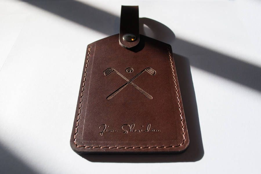 bb1140b6bb73 Personalized Luggage Tag handcrafted from premium by CarveOn Personalized  Luggage Tags