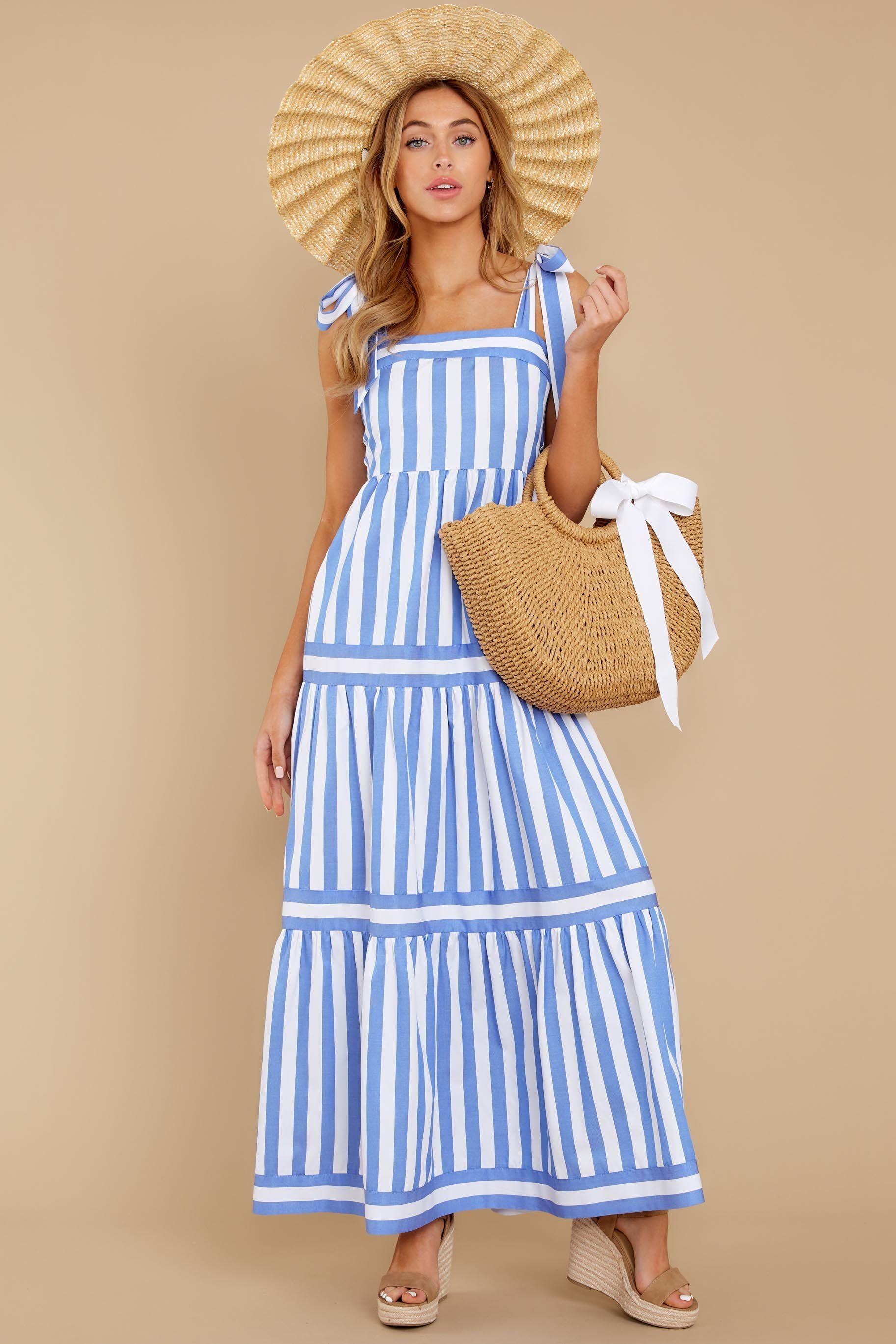 I M With You Blue Stripe Maxi Dress Backorder January 2021 Blue Striped Maxi Dress Striped Maxi Dresses Striped Maxi [ 2738 x 1825 Pixel ]