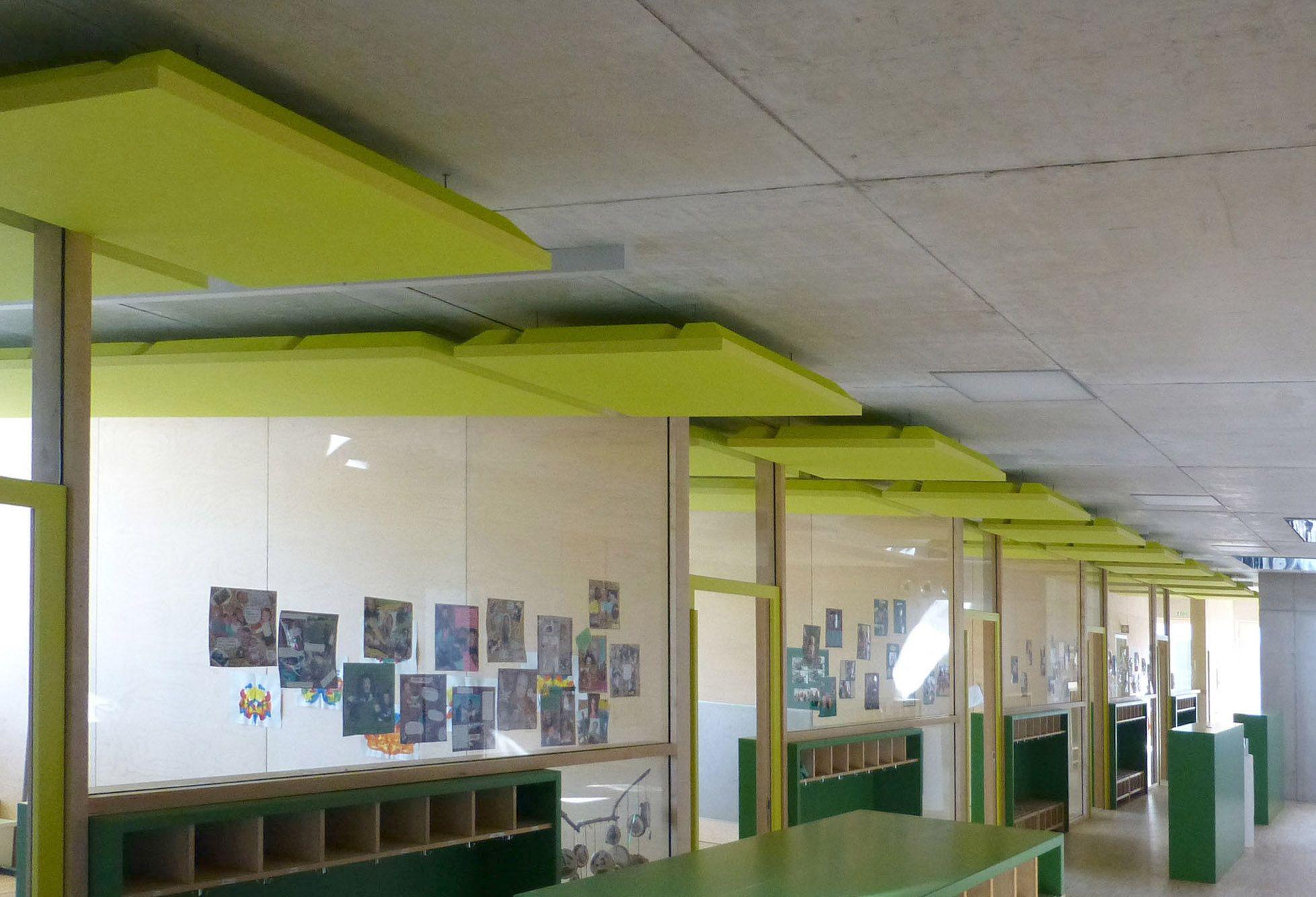 Abgehängte Decke Paneele | Deckengestaltung Abgehangte Holzdecke ...