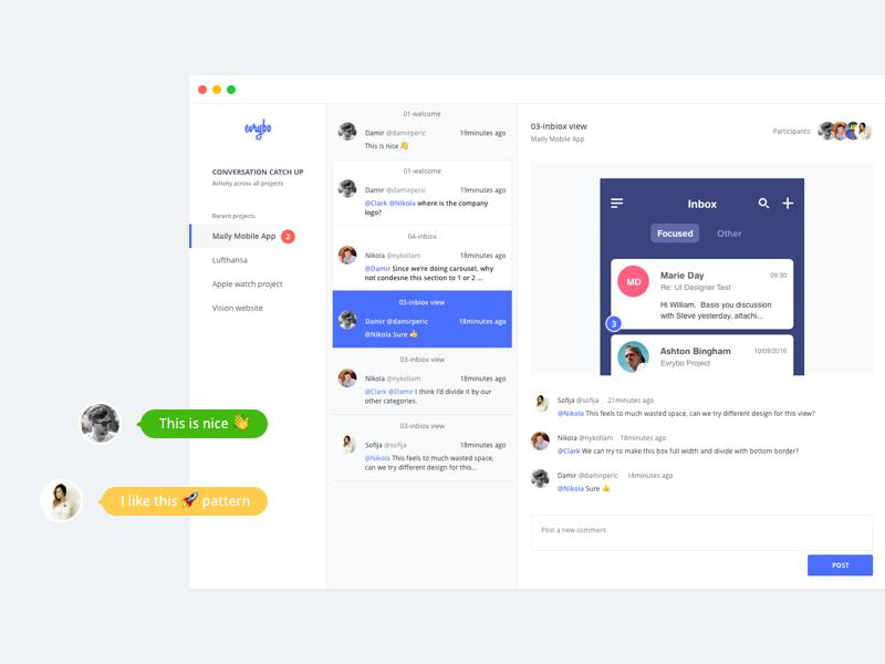 Conversation Catch Up Web design, Web inspiration, User