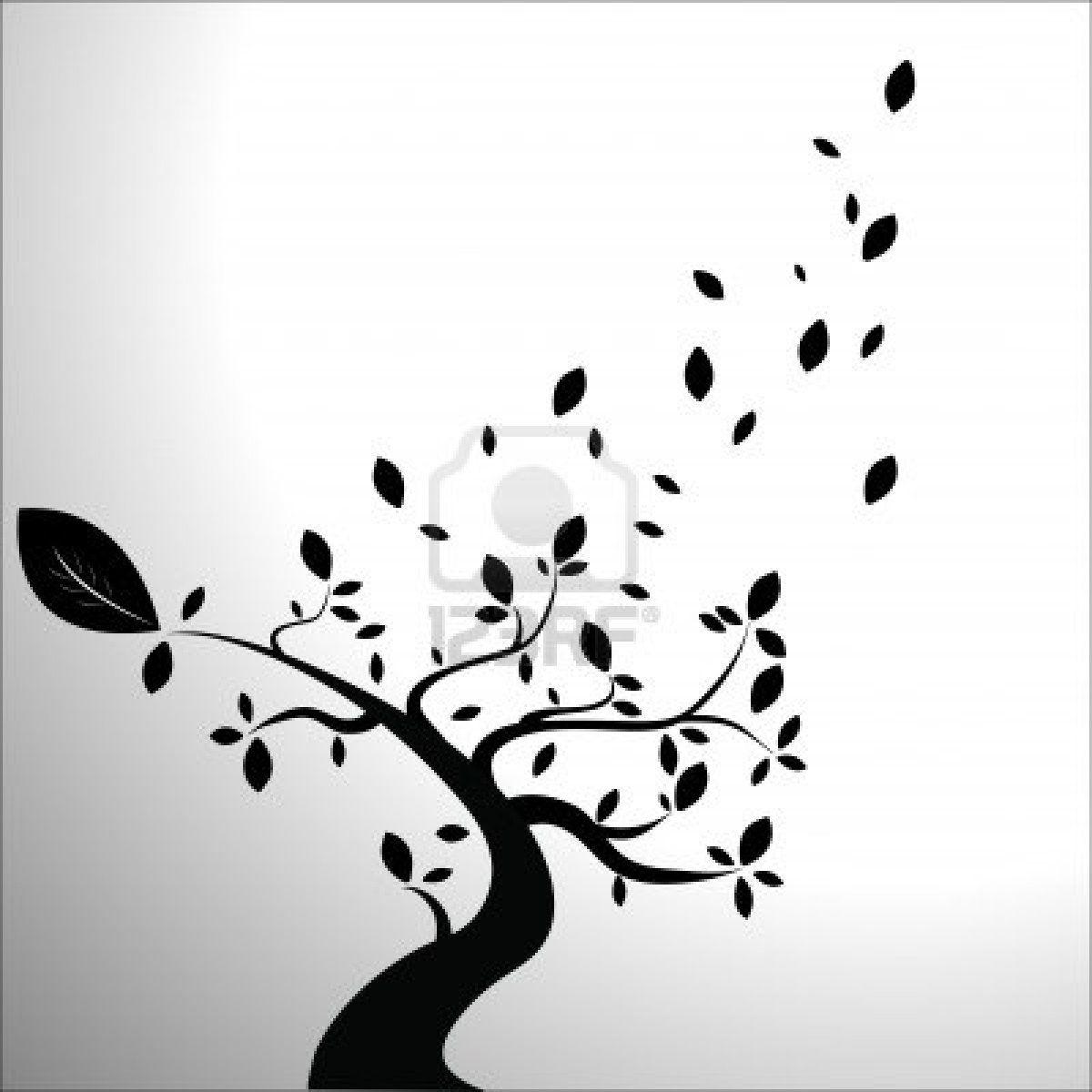 Es weht der Wind ein Blatt vom Baum von vielen Blättern ...