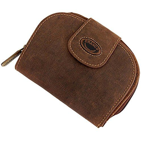 5e513753050604 Branco Leder Damen Geldbörse Börse Portemonnaie Geldbeutel GB (Braun).  #koffer rucksäcke &