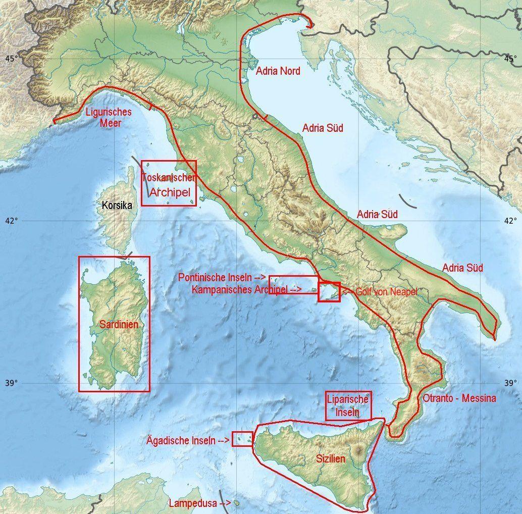 Revierinformation Fur Segler Der Golf Von Neapel Neapel Neapel