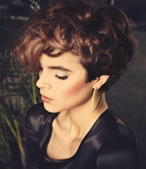 10 Beste Sehr Kurze Lockige Haare Frisuren Kurze Lockige Frisuren Und Lockige Frisuren