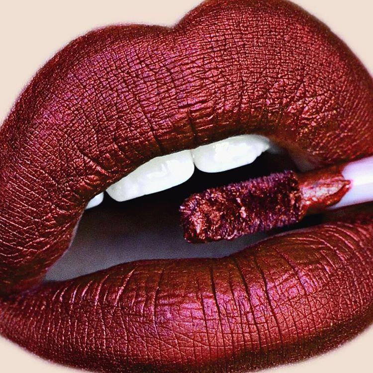 Dark Red Lips Limecrime In Eclipse Lip Color Lipstick Makeup