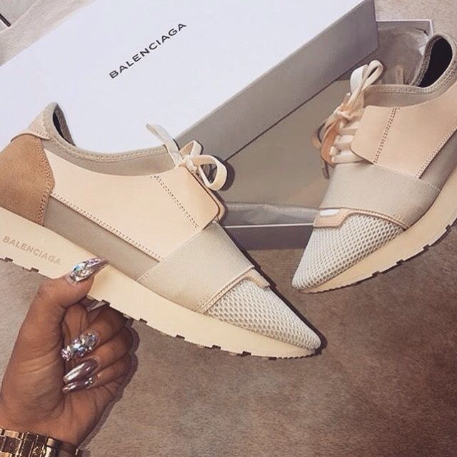 Image result for balenciaga shoes beige white