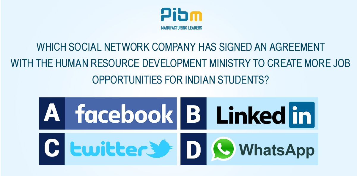 Pibm Quiz Socialmedia Hr Jobs  Quiz    Business