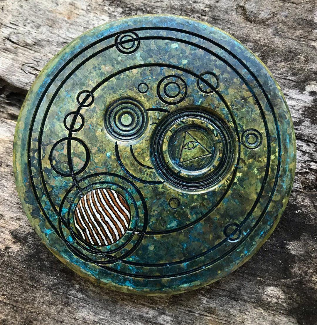 mokume gane from coins