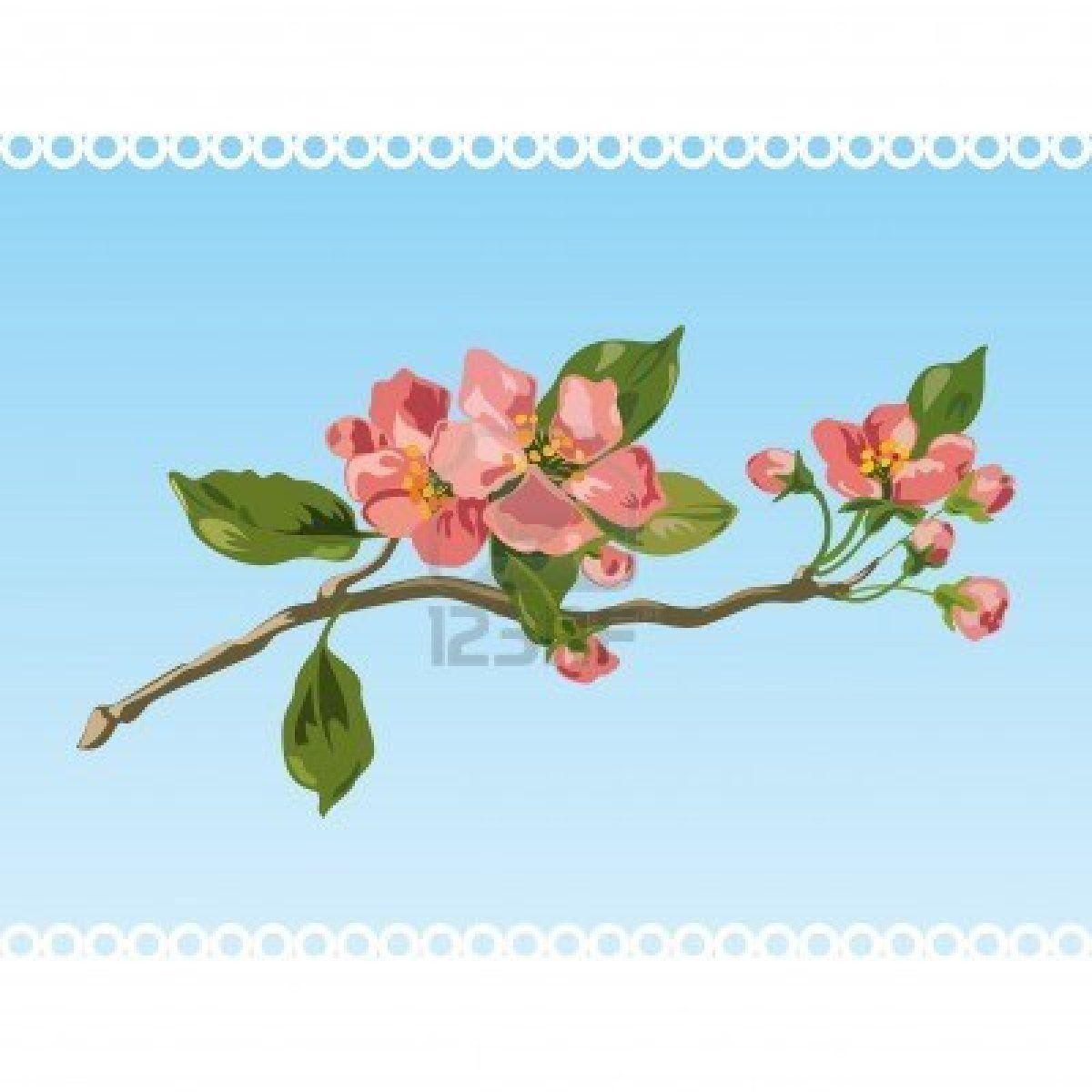 Flor de la cosecha de primavera. Vector Foto de archivo - 6824357