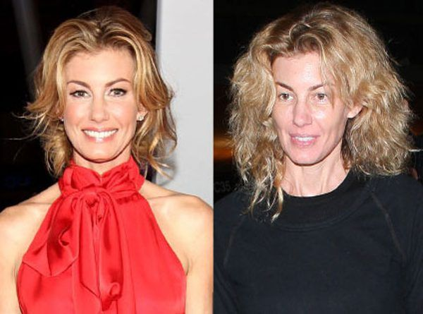 Faith Hill From Stars Without Makeup Without Makeup How To Look Pretty Faith Hill