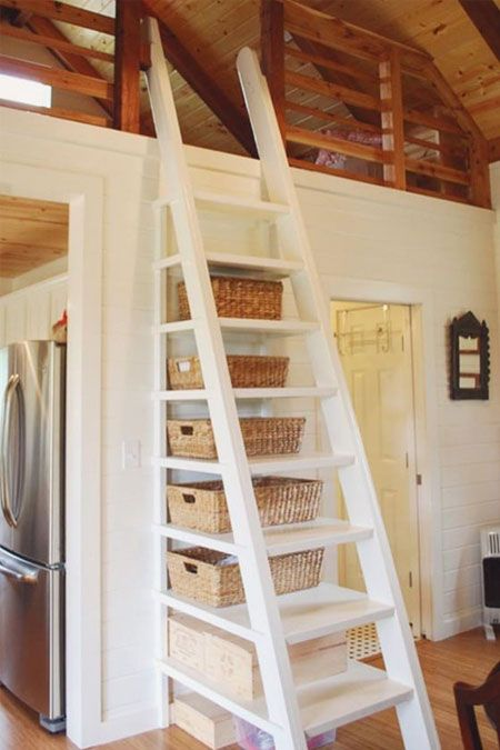 Tiny House Stairs: How To Build Them And Clever Design Ideas With Photos