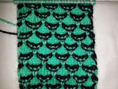 5eafa13fd Shawl Blouse Sweater Design Double Color (शाल  ब्लाउज बुनाई ) - YouTube