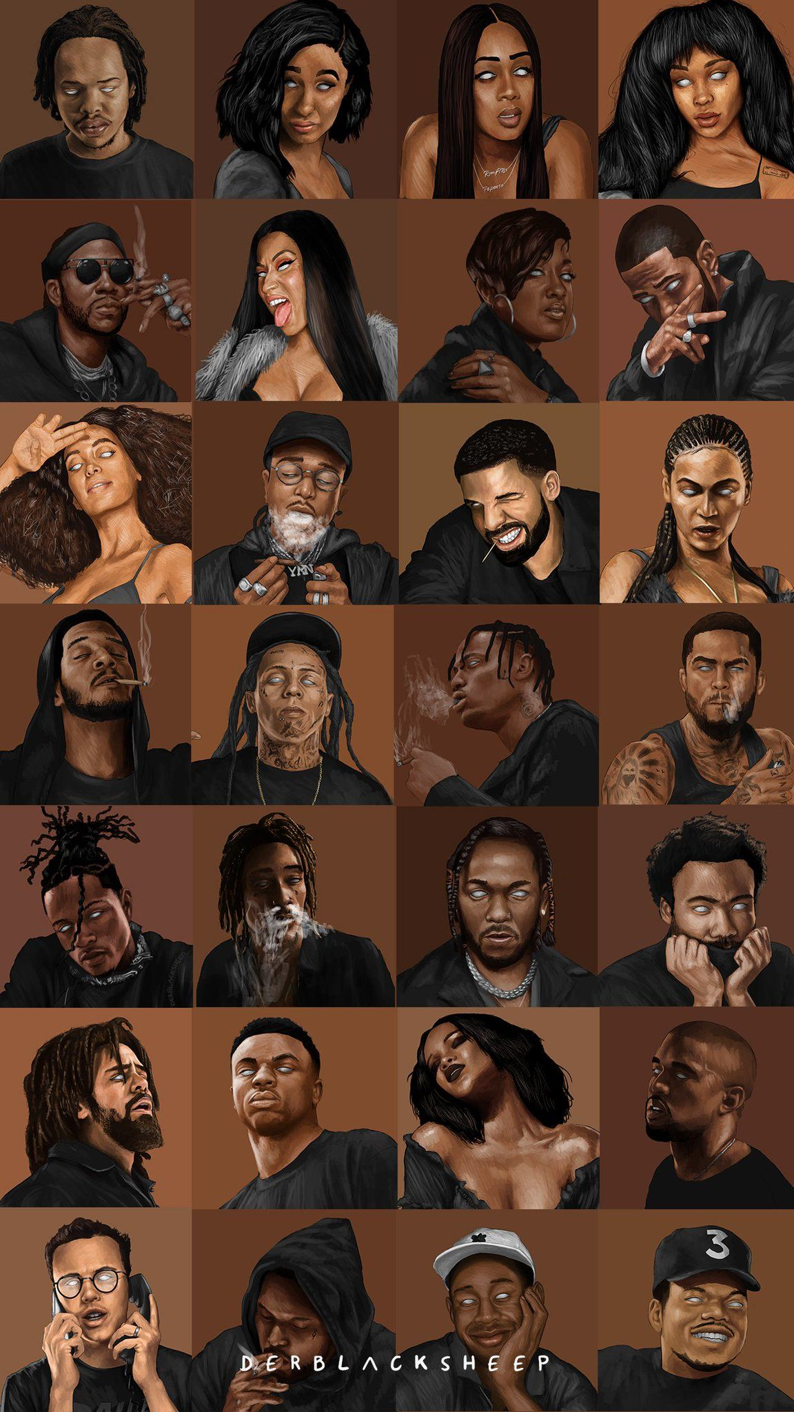 Artist DerBlackSheep Rapper