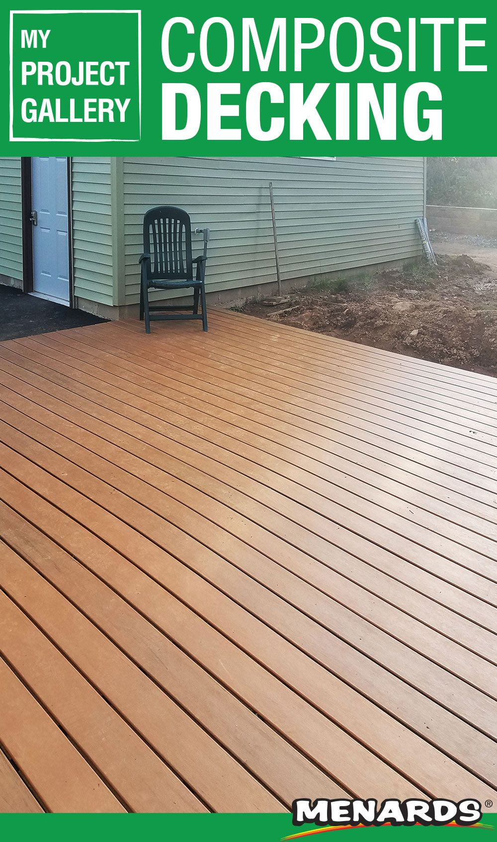 A composite deck is a great choice for a lowmaintenance