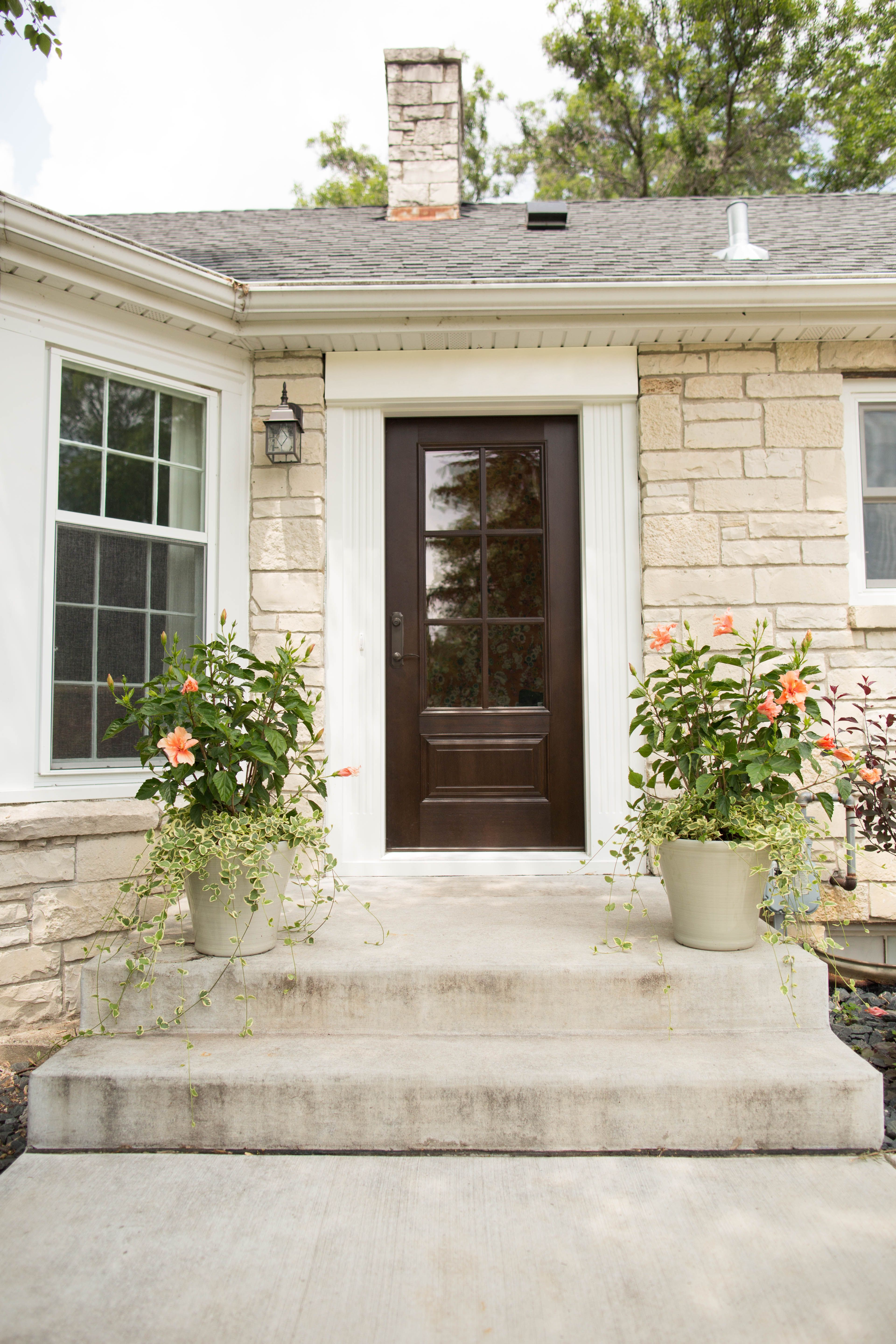 Exterior Doors A Classic Entry Door For A Cape Cod Colonial A