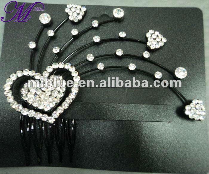 #crystal hair accessories, #bride hair pins, #hair pins
