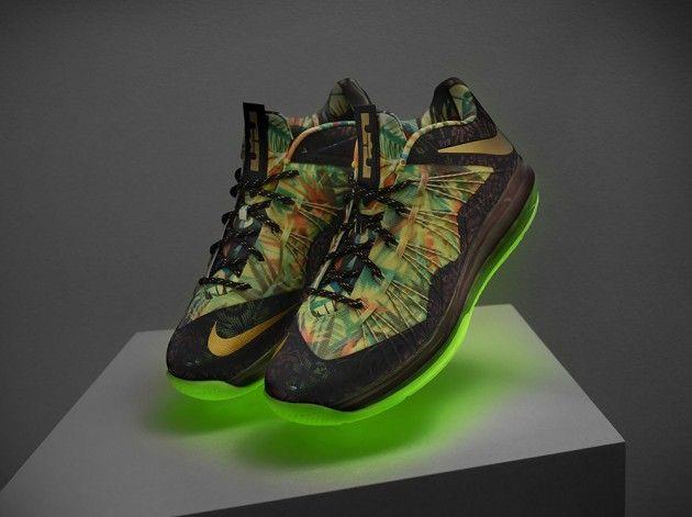 new style 0e3ef e6c4c Nike LeBron X Championship Pack