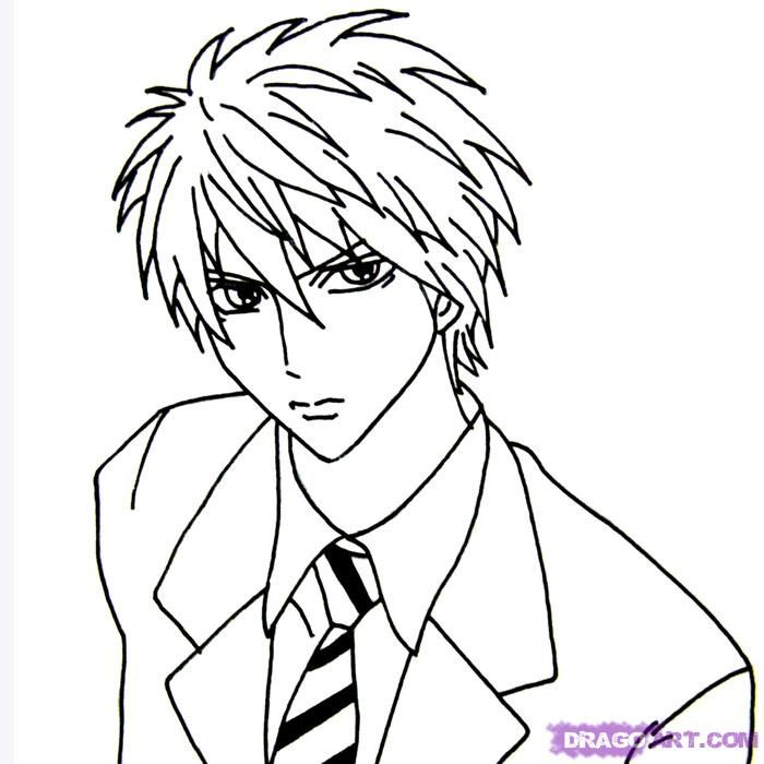 How to draw anime boy drawing read manga at mangagrounds net and join our otaku