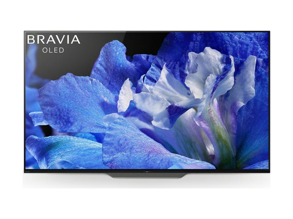 Sony Bravia Kd55af8 55 Inch Oled Hdr 4k Ultra Hd Smart Android Tv With Freeview Hd Youview Acoustic Surface One Slate Design Black Sony Xbr Oled Tv Sony