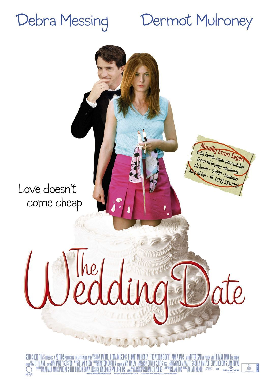 An Alternate Movie Poster For The Wedding Date Wedding Movies The Wedding Date Movies
