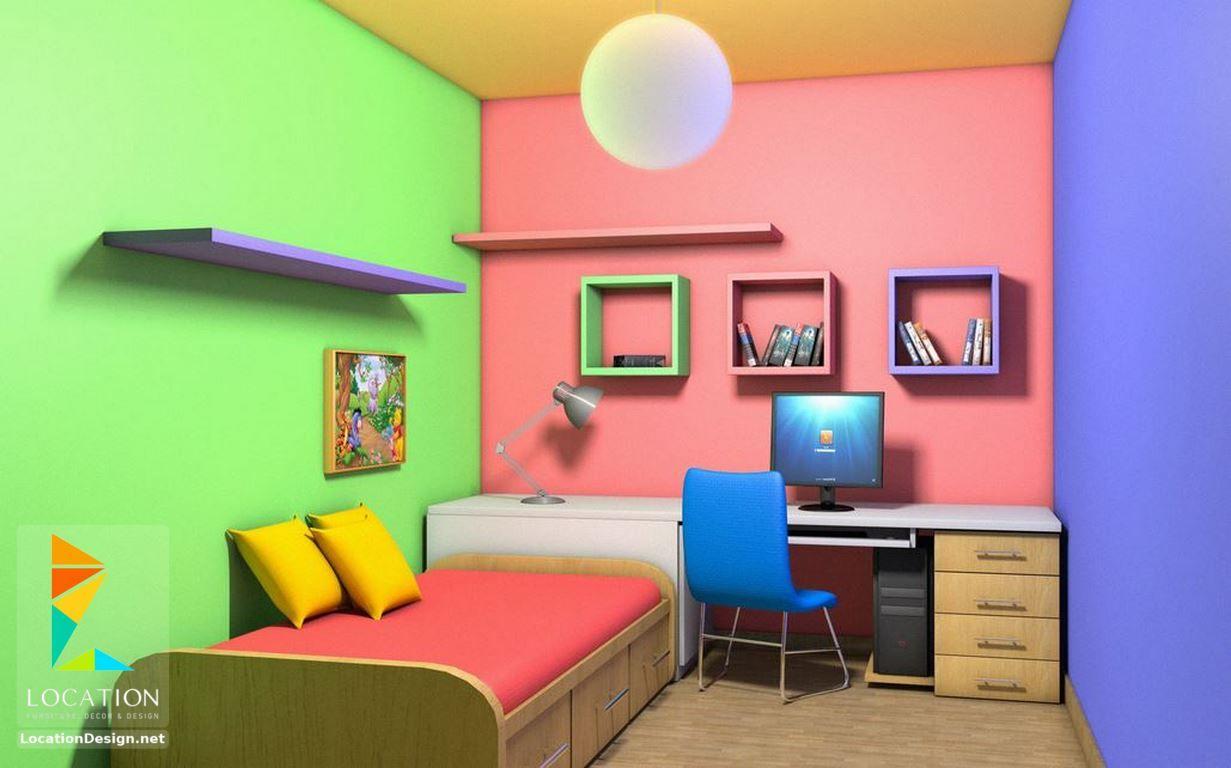 كتالوج صور دهانات غرف نوم اطفال 2017 2018 Kid Room Decor Kids