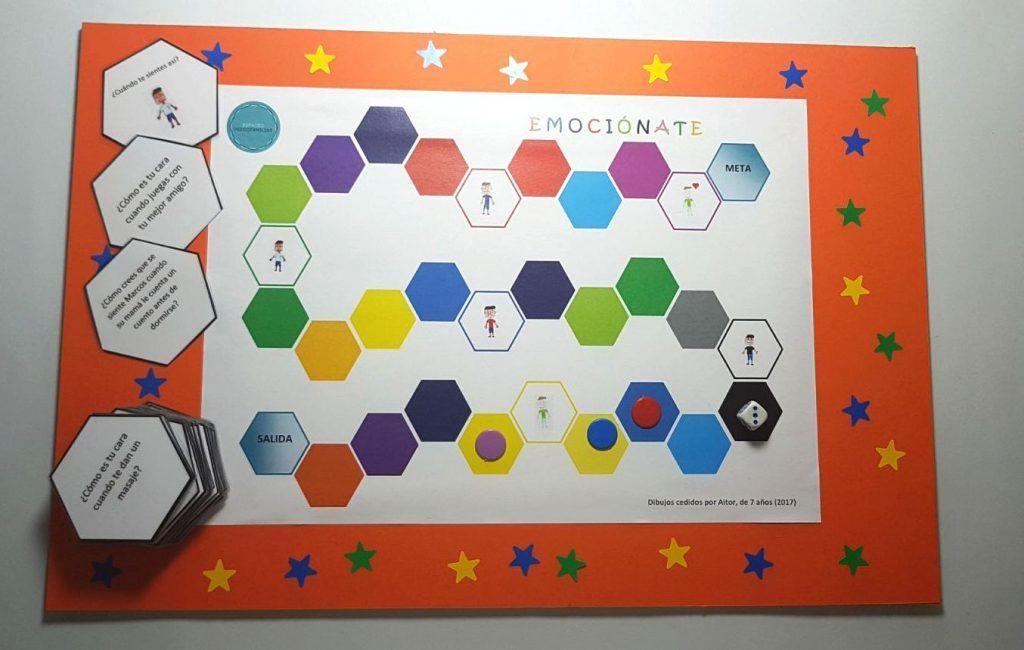 Juego De Mesa Emociónate Espacio Psicofamiliar Juego De Emociones Actividades Montessori Juegos