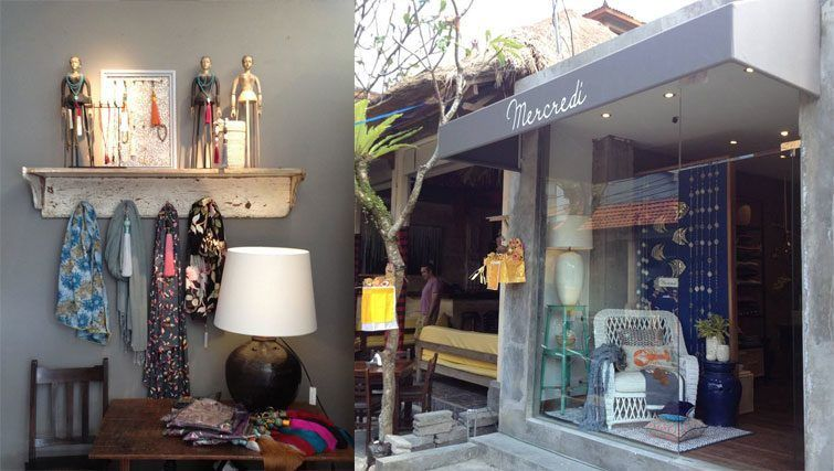 Mercredi Bali designer homeware shop Finding Furniture