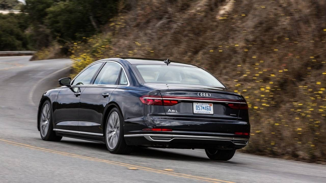 2019 Audi A8l First Drive Tons Of Teutonic Tech Price And Release Date Audi First Drive Driving
