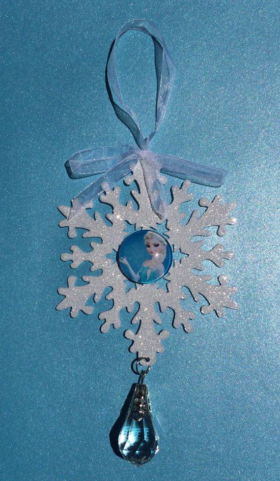 Disney Frozen Elsa Crystal Snowflake by LolasSweetsAndTreats