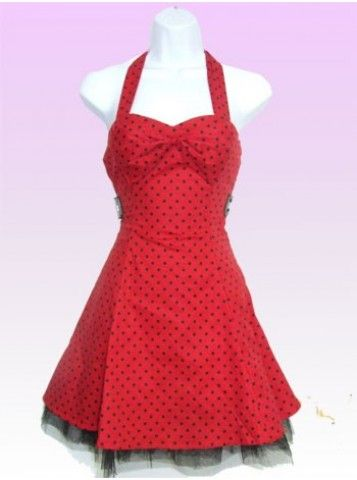 Small Dot [Red/Black] | DRESS