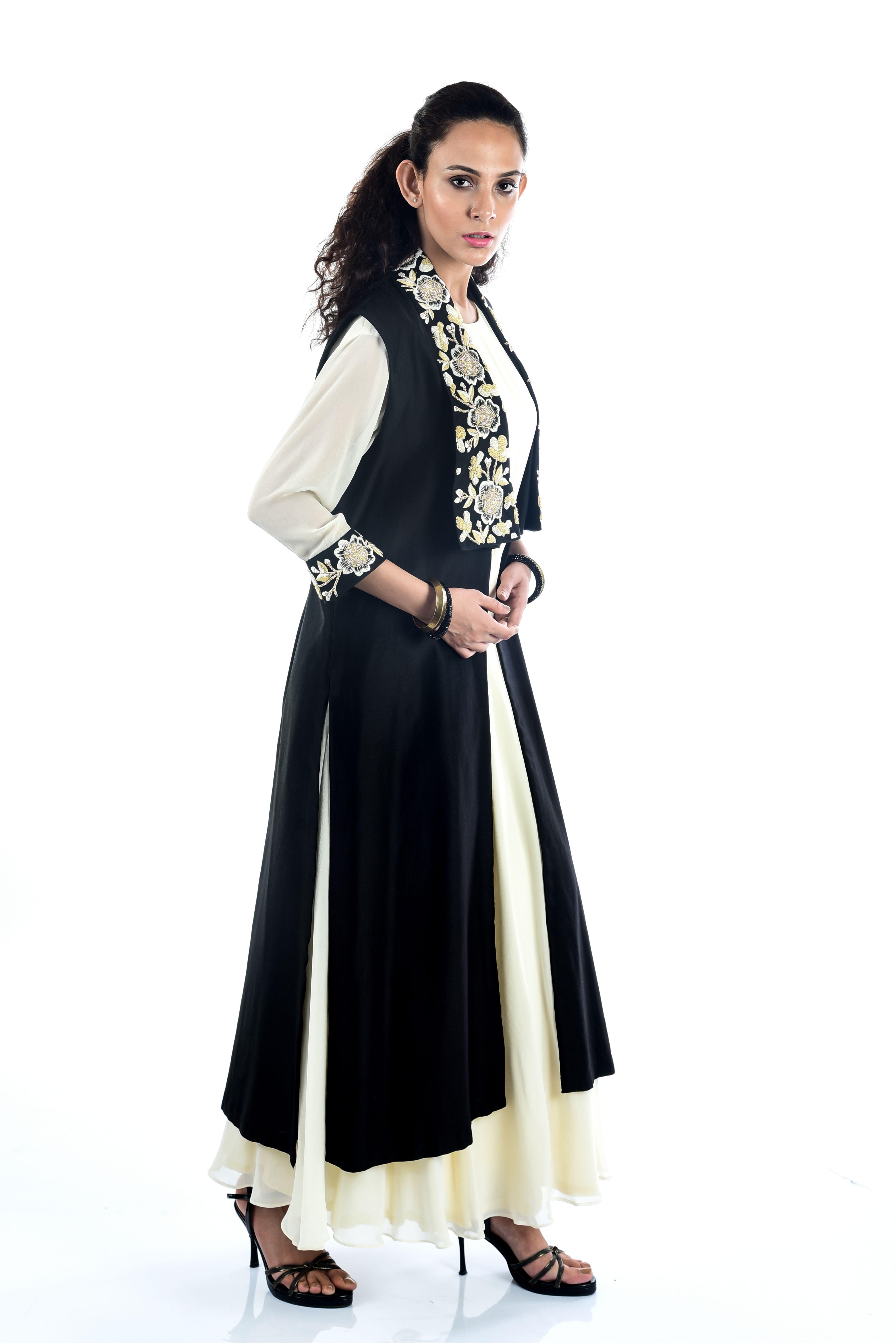 Party Wear Designer Dresses For Women In Kolkata Devika Churiwal Is