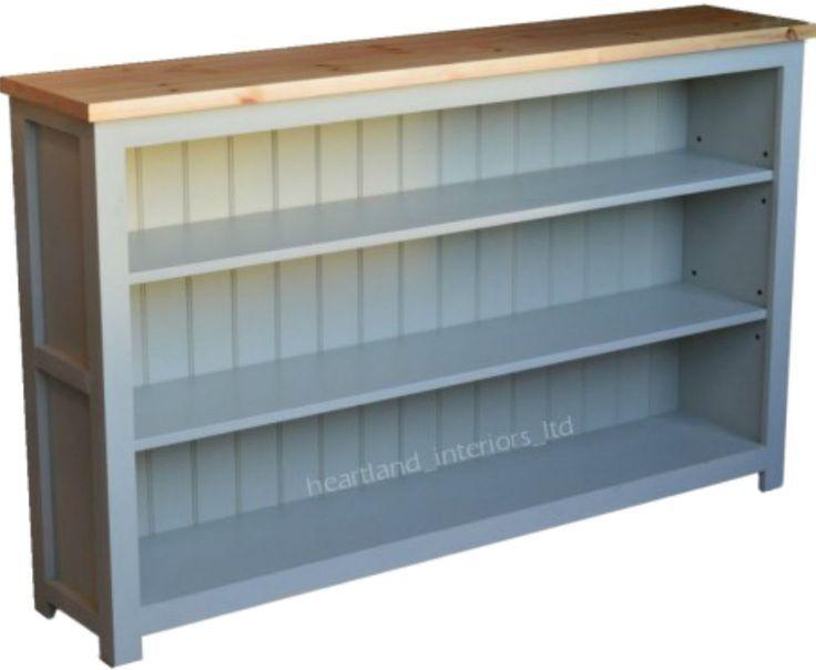 Niedrig, Breit, Bücherregal Holz Regale, Diy Pläne Braun
