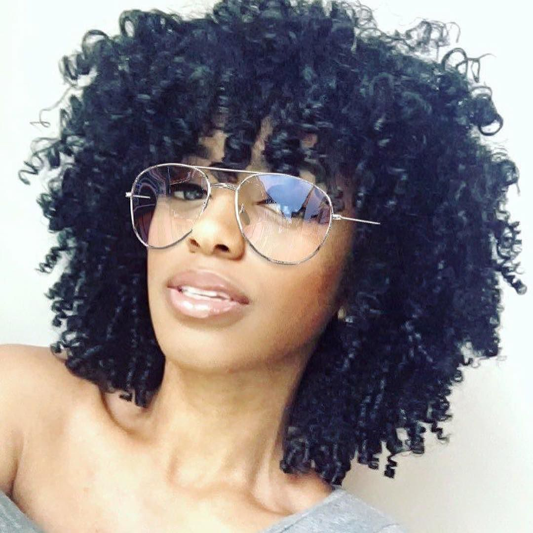 samglamazon keeping her curls soft & hydrated w/ hairdew