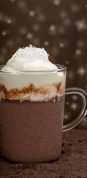 Coconut Hot Cocoa 1 Oz New Amsterdam Coconut Vodka Hot Cocoa