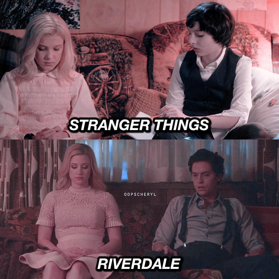 I don't watch Riverdale but I knew other people did, so here y'all