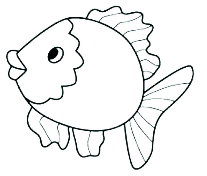 Cute Fish Coloring Pages For Kids From The Finding Nemo Movie Fish Coloring Page Preschool Coloring Pages Animal Coloring Pages