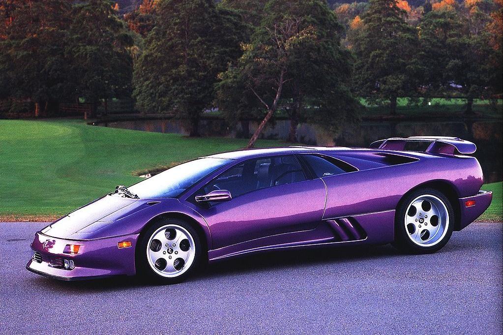 Lamborghini Diablo Purple Purple Cars Pinterest Lamborghini