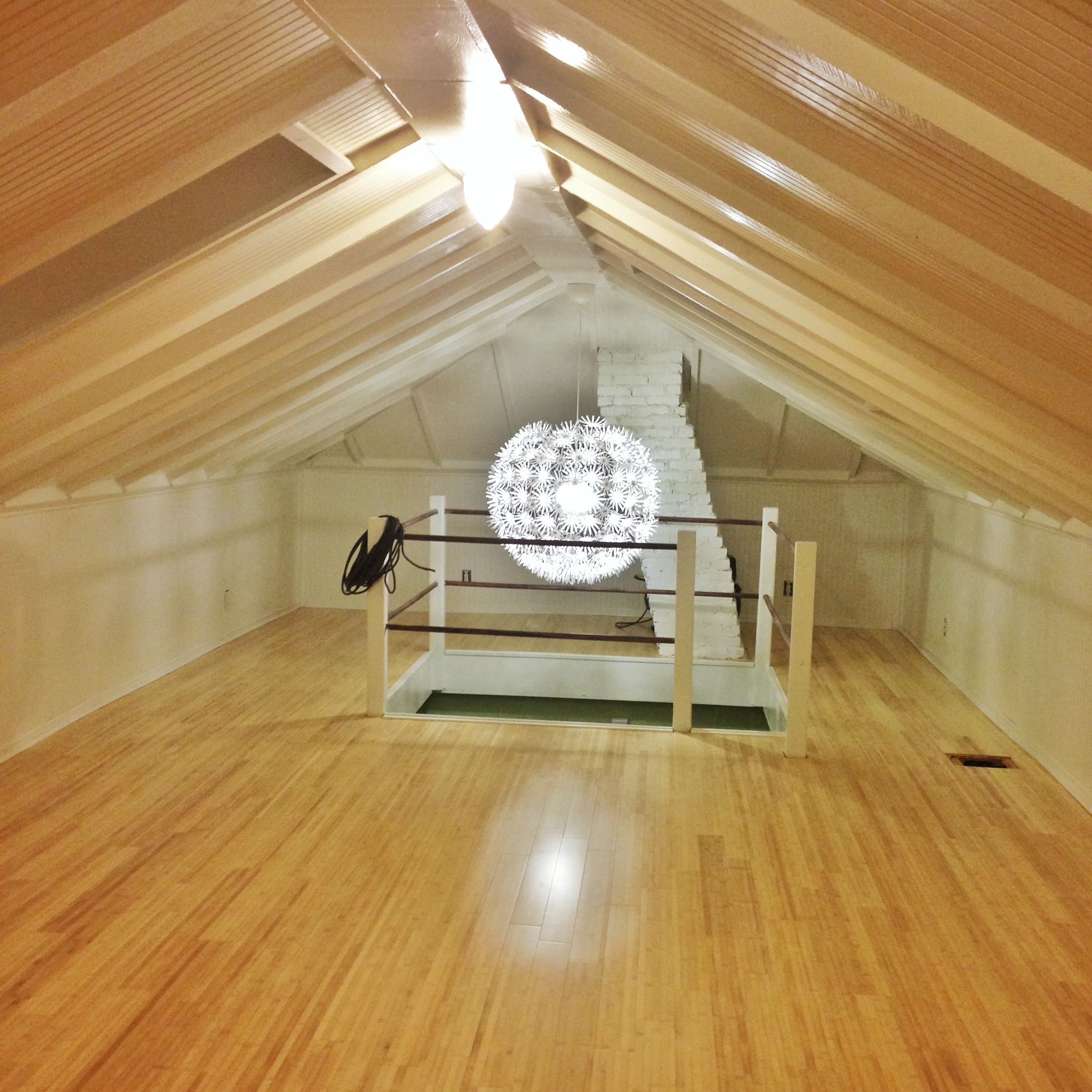 Attic Room, Diy, It Took Us About 13 Months Added