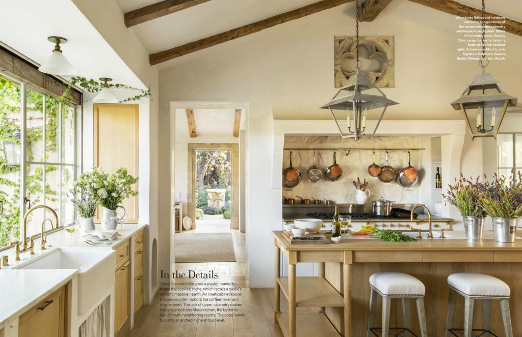 Patina Farm Veranda Magazine Kitchen | Patina Farm...Brooke And Steve  Giannetti
