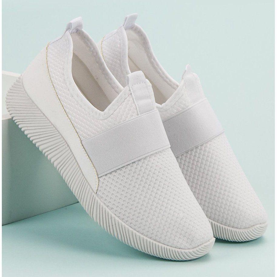 Wsuwane Buty Sportowe Biale Sport Shoes Shoes Sports Shoes
