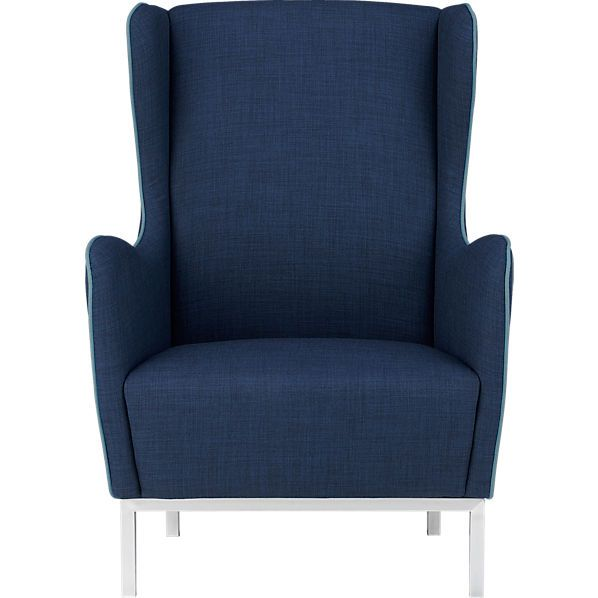 Sensational Study Wingback Chair In View All New Cb2 Cool Chair For Gmtry Best Dining Table And Chair Ideas Images Gmtryco