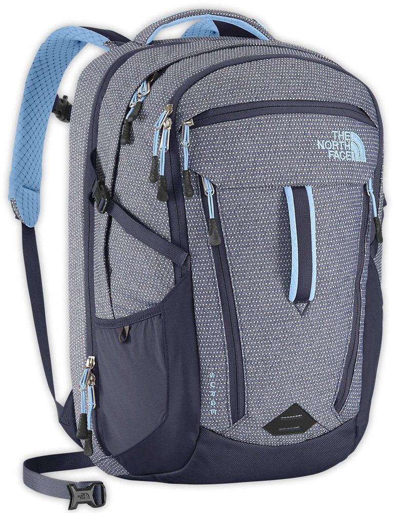 be721ada0 Amazon.com : The North Face Womens Surge Backpack Dot Texture ...