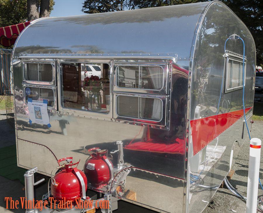 1952 Little Caesar | Campers | Retro | Vintage ♥ | Teardrop camper