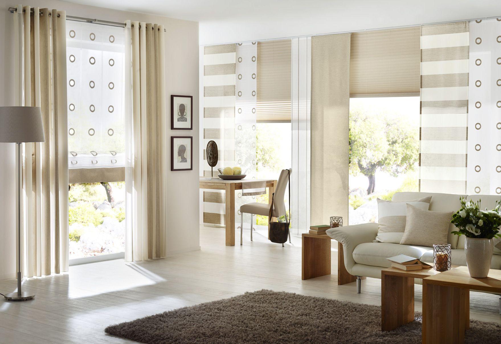 Fenster Purenature Gardinen Dekostoffe Vorhang WohnstoffePlisseesRollosJalousien