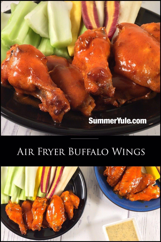 Air Fryer Buffalo Wings Recipe Buffalo wings, Cooking