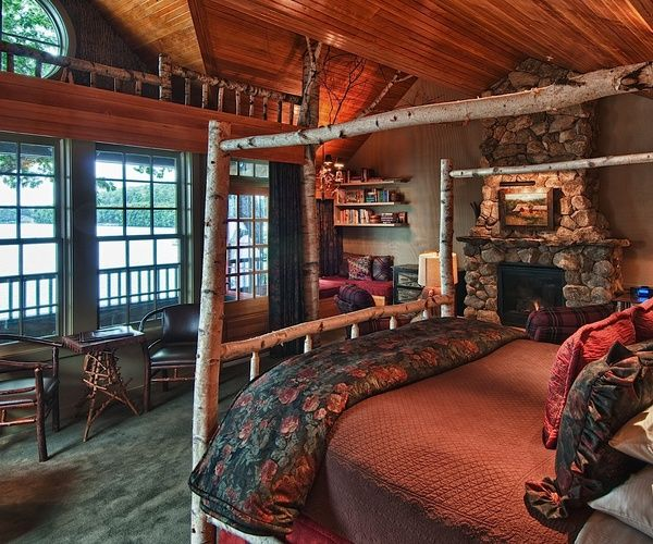 Birch Creek Apartments: Boathouse & Birch Lodge Guestroom, Mill Falls Resort, New