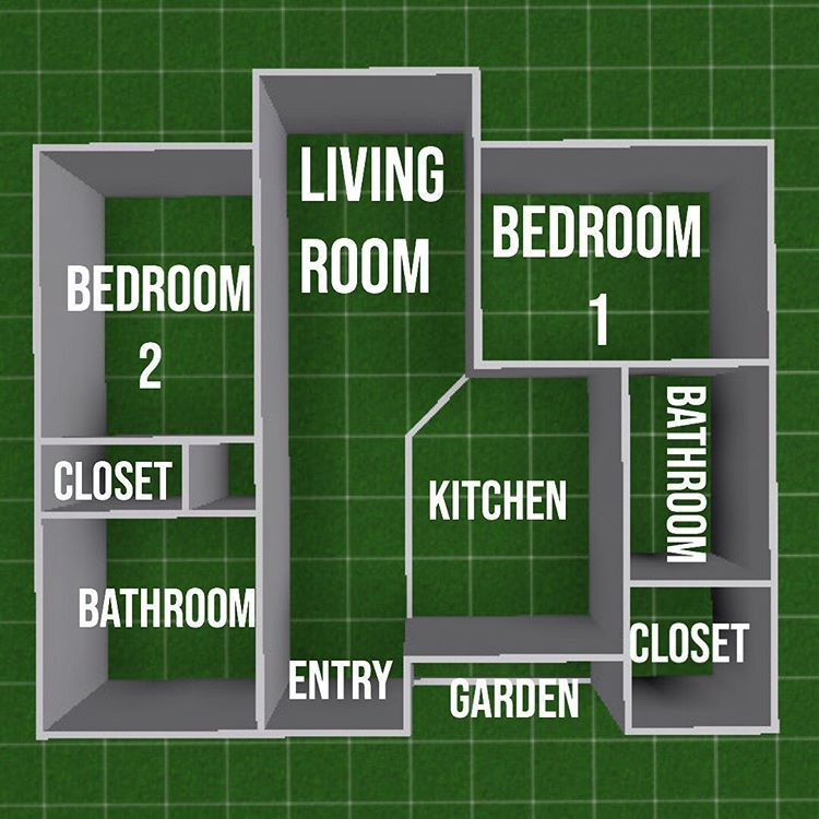 Bloxburg Floorplans Here Are 5 Floorplans I Ve Made Ranging From Medium Sized Family Home To Bachelor Pad House Floor Design Sims 4 House Design Floor Plans House layout maker bloxburg