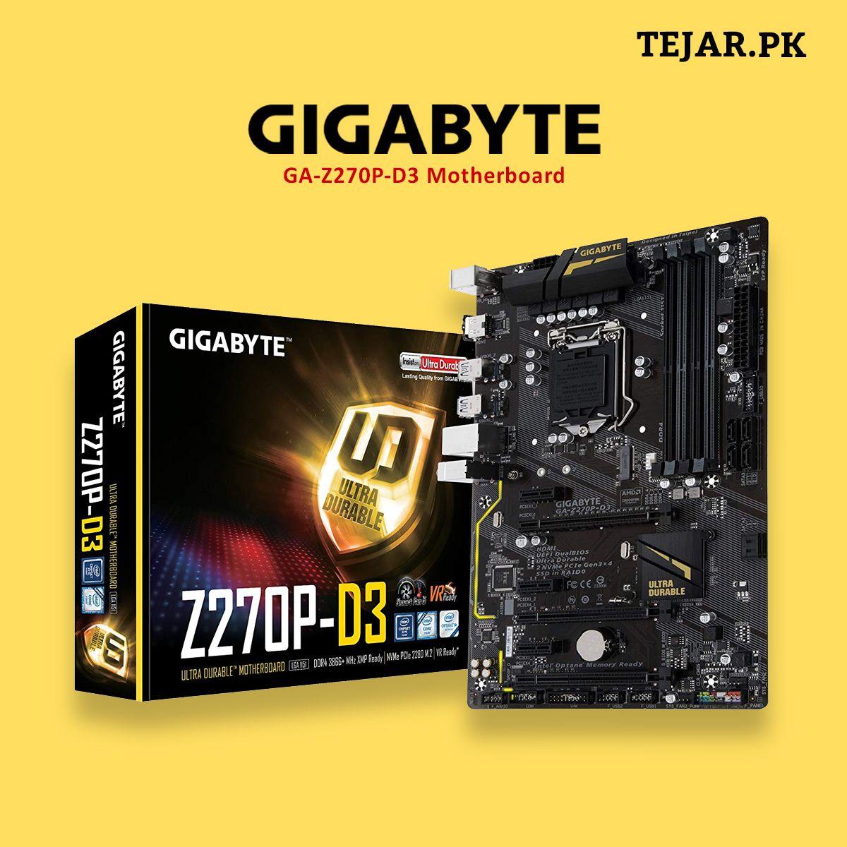 Gigabyte GA-Z270P-D3 Motherboard | Motherboard, Buy computer, Gigabyte