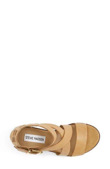 49ed691d00a Steve Madden 'Rosana' Double Ankle Strap Leather Sandal (Women ...