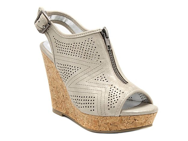 Peep toe wedges, Peep toe wedge sandals